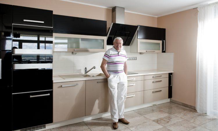 Jozef Golonka v kuchyni Elis