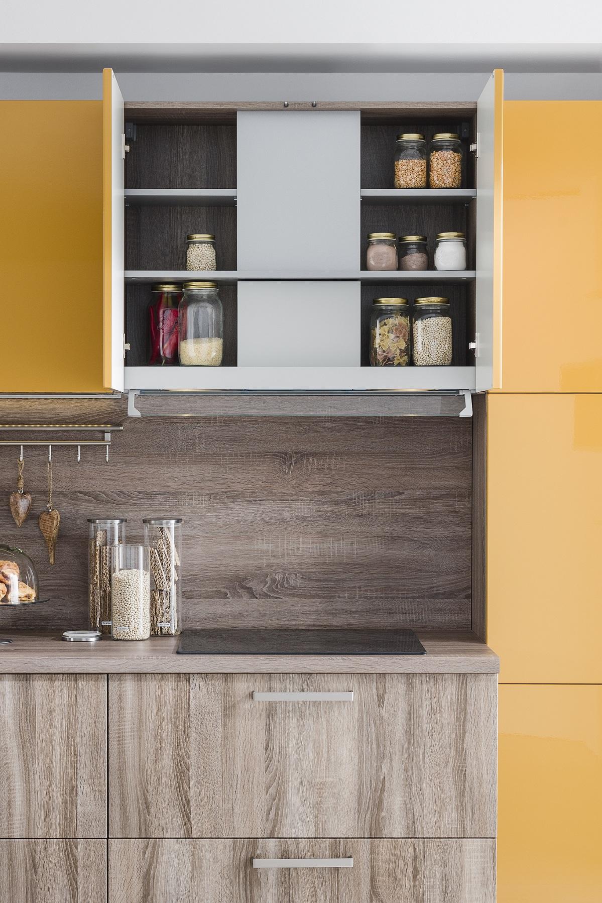 Kuchyňa Ester digestor a úložný priestor