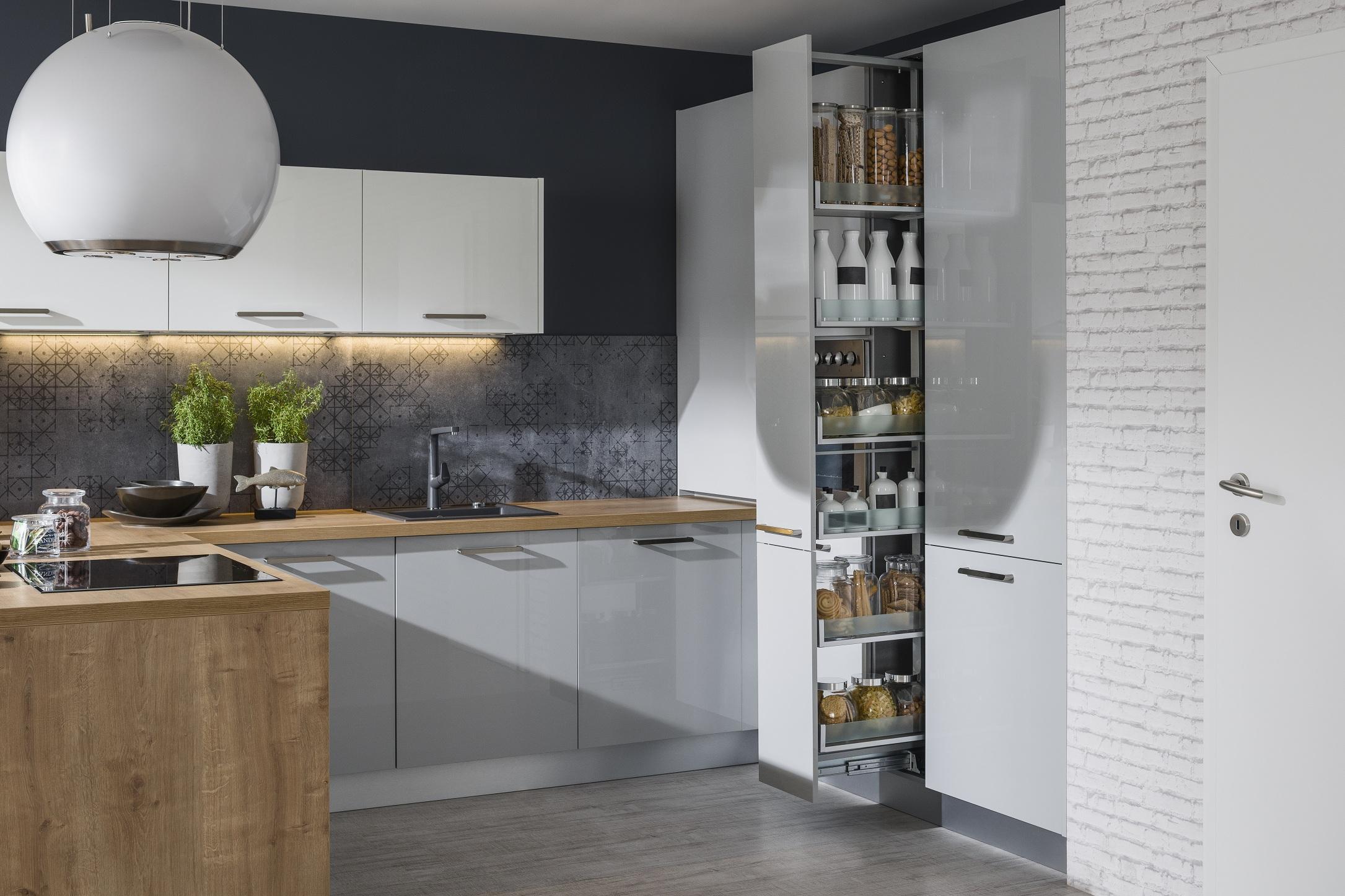Kuchyňa Iris pvýsuvný systém na potraviny