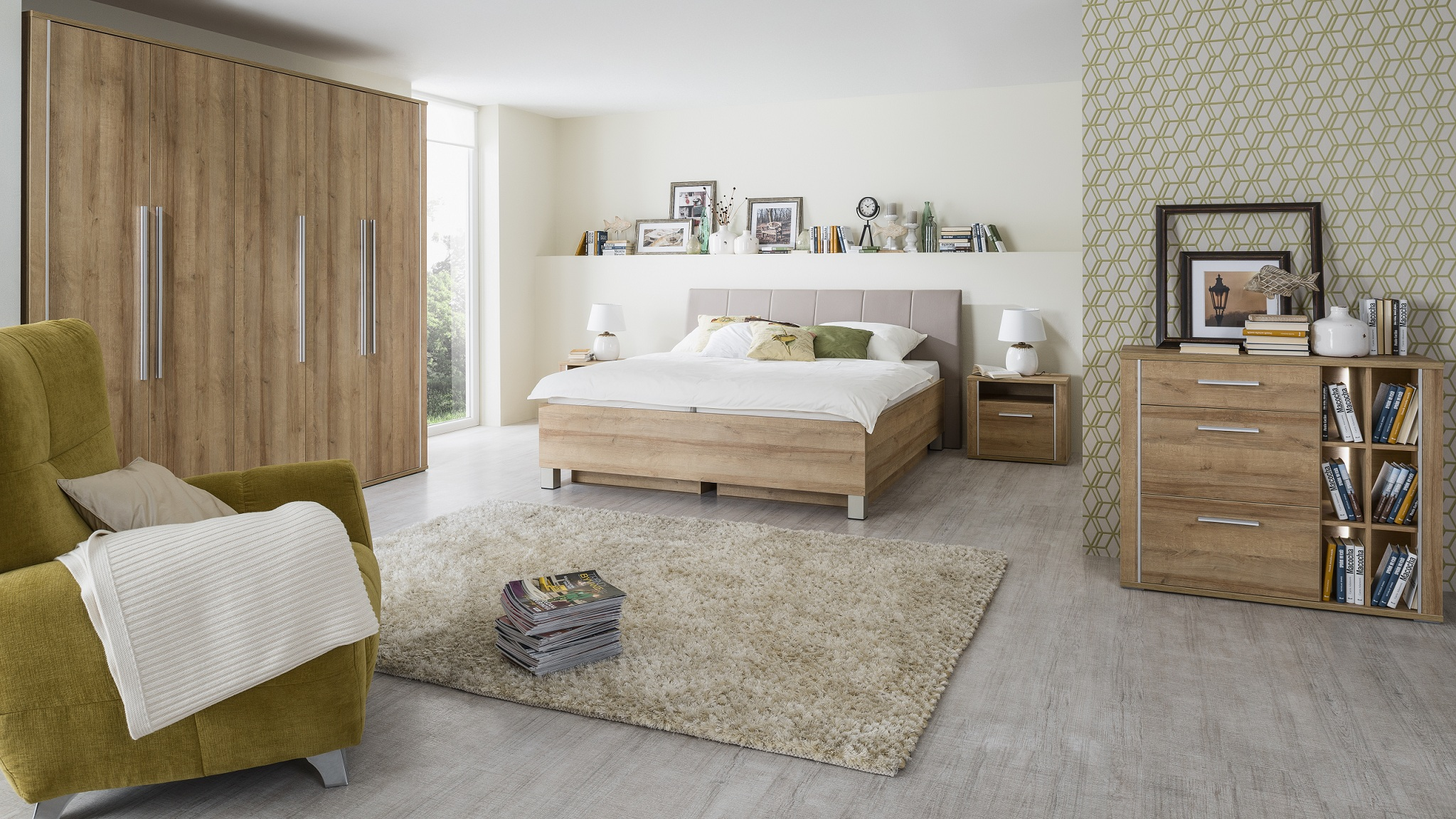 Spálňa Nordic