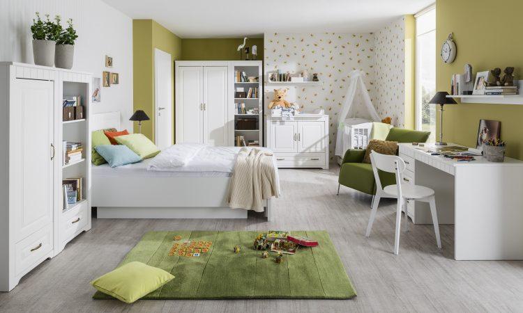 detská izba Tirol biela arctic