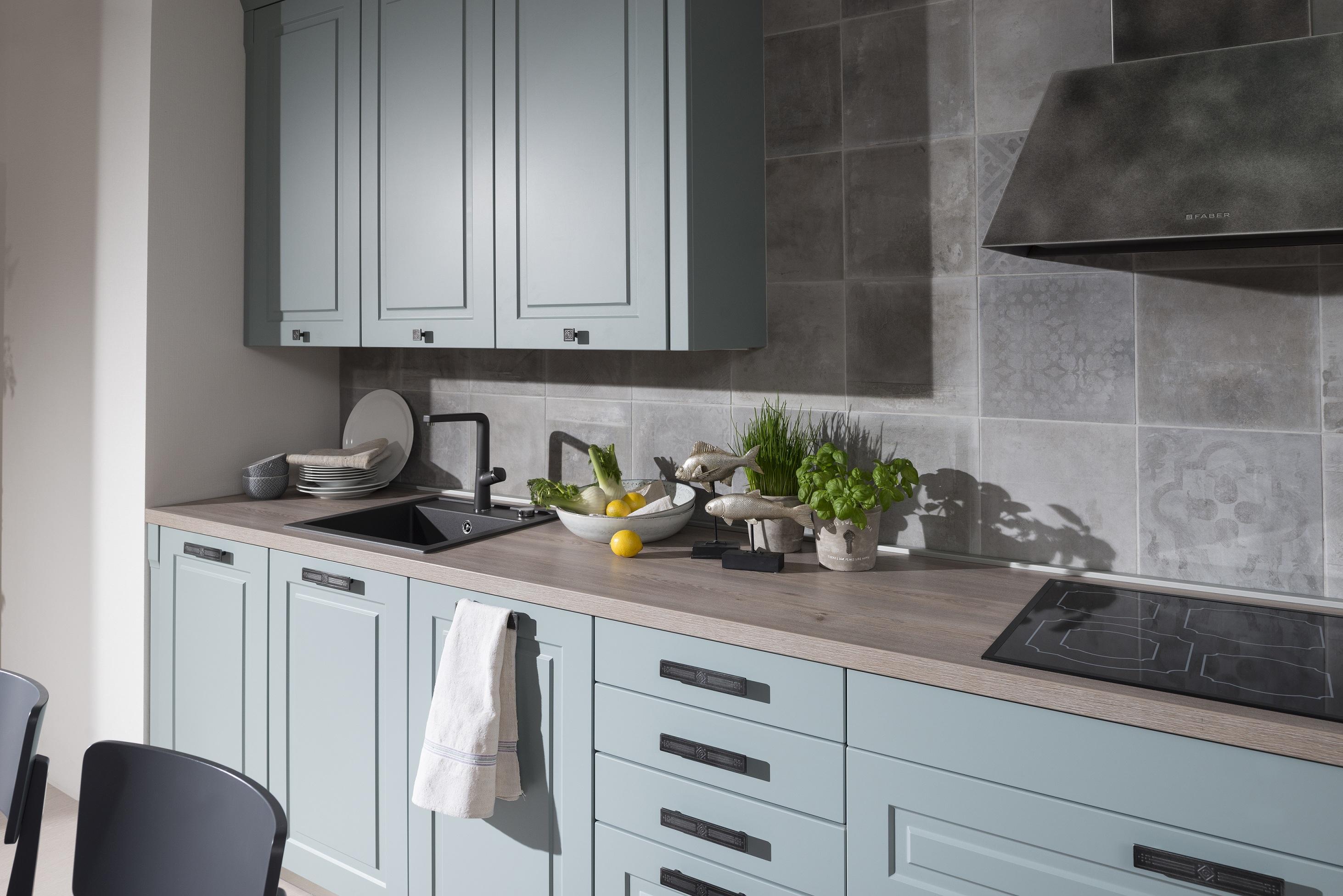 farba Fjord v kuchyni Lota